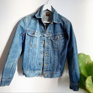 Vintage 80's Lee Blue Jeans Denim Size Small